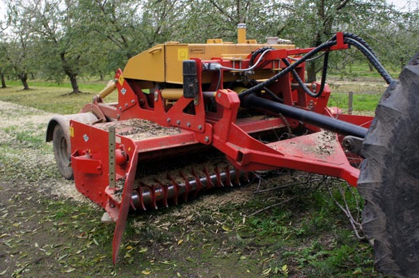 SEPPI M. WBS pick-up Mulcher