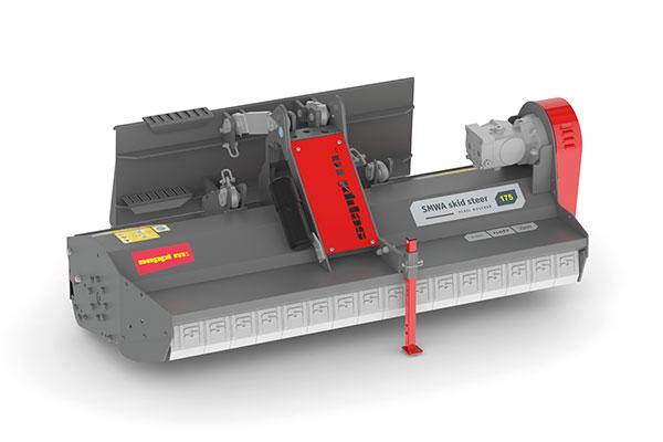 Hydraulischer SEPPI M. Mulcher für Kompaktlader SMWA skid steer