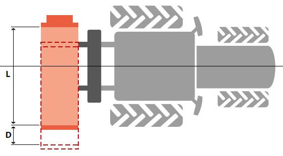 Laterale Seitenverschiebung von SEPPI M. Schlegelmulcher SMWA s