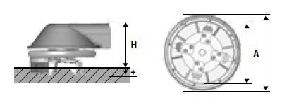 SEPPI M. XSC Zwischenstammkrümler Abmessungen
