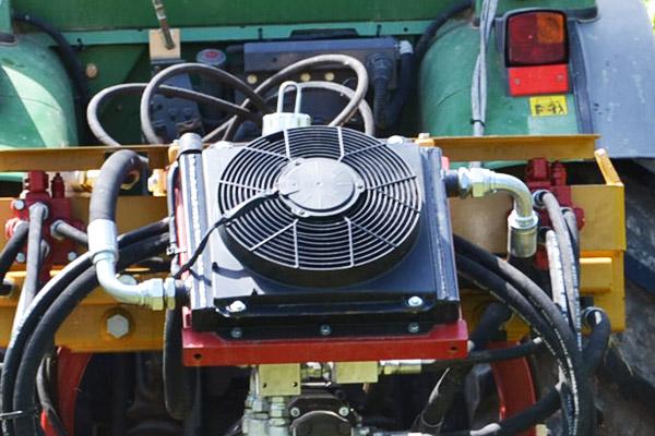 SEPPI M. Wärmetauscher für SEPPI M. X-FAST Schnellkuppelsystem und PORT-X Geräteträger