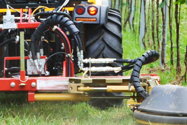 SEPPI M. PORT-X direct mit hydraulischen Antrieb über den Traktor