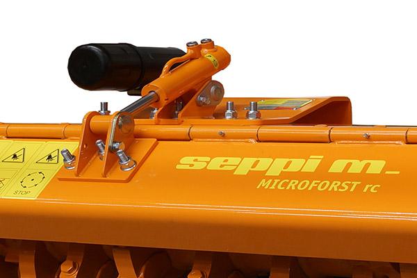 Hydraulisch einstellbare Haube von SEPPI M. MICROFORST rc
