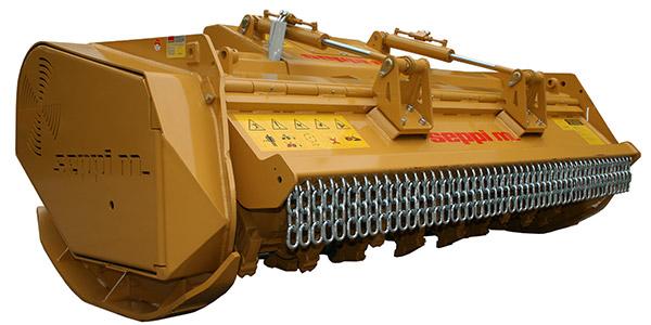 SEPPI M. SUPERFORST hyd mit geschlossener hydraulischer Haube