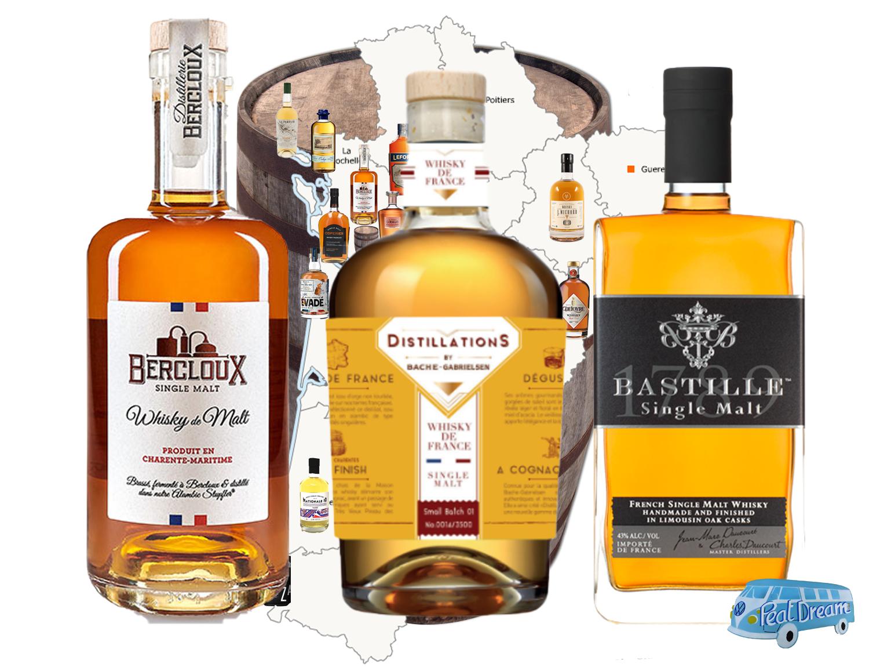 La NOUVELLE AQUITAINE la nouvelle patrie du whisky Français
