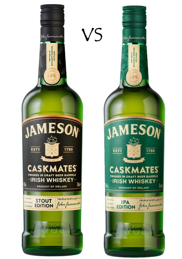 JAMESON CASKMATE STOUT VS IPA