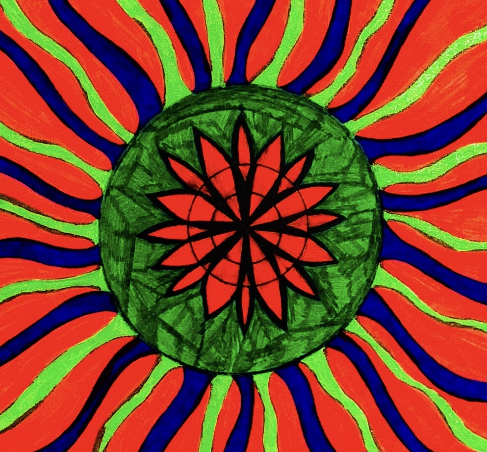 Playing with Colours ~ The Alchemy of Energy ~ The existence ~ Playing all Time ~ All Time Trip