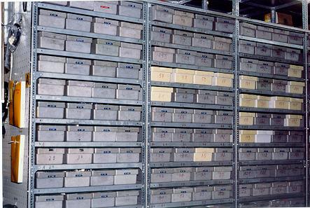 Uni-Box als praktisches Lagersystem