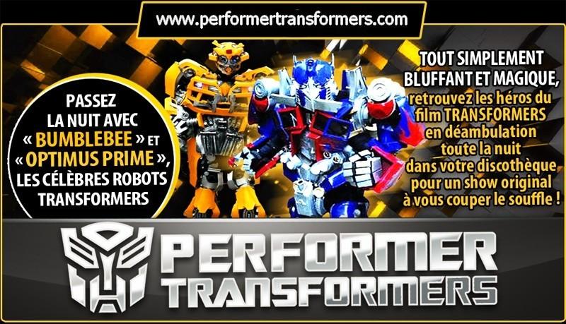 animation transformers foire en belgique , mascotte transformers  , foire fete foraine
