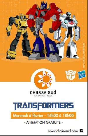 transformers , france , animation , hasbro , show, magasin, centre commercial ,