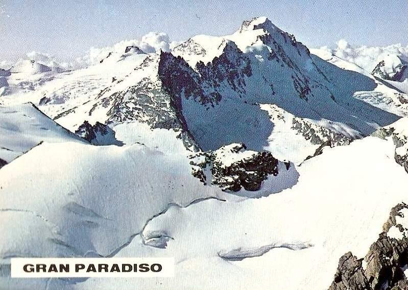 Gran Pradiso 4061 mt. slm 1979.