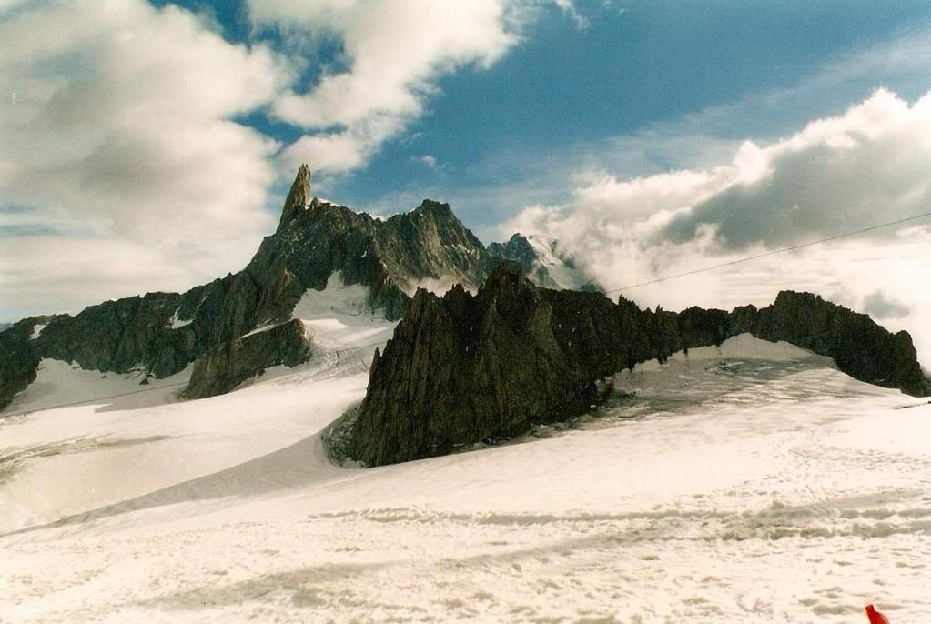 Dente del Gigante 4013 mt. slm - gruppo Monte BIanco