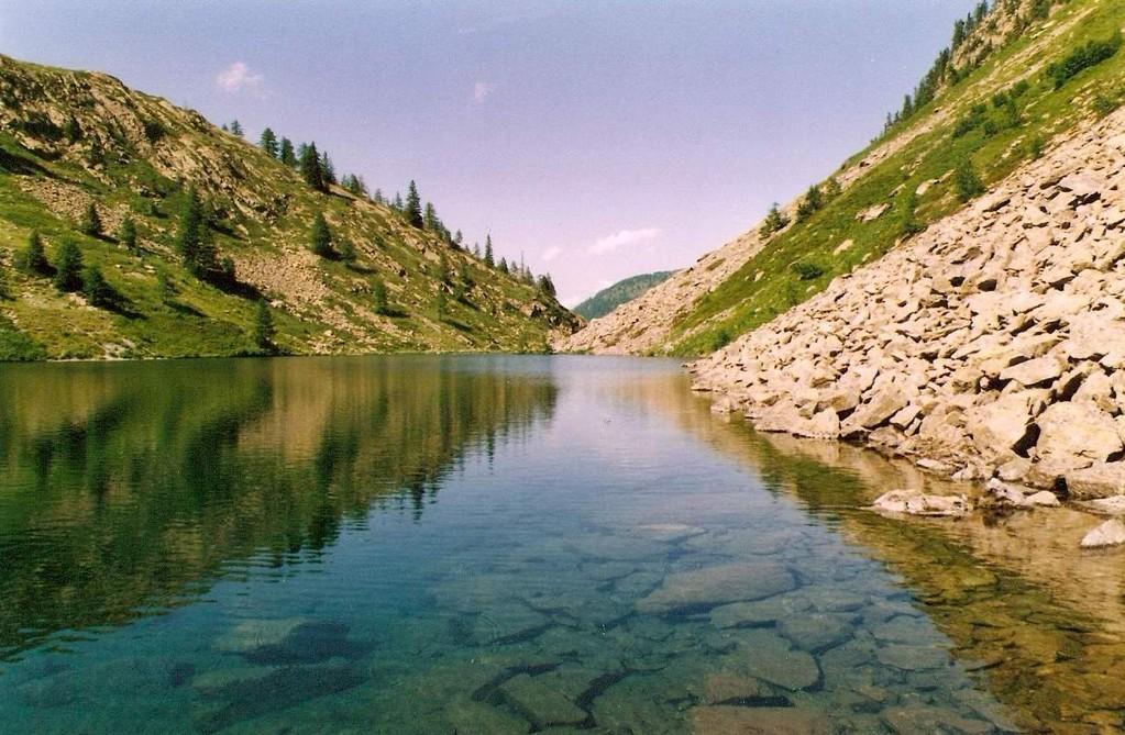 Lago San Bernolfo 1913 mt. slm
