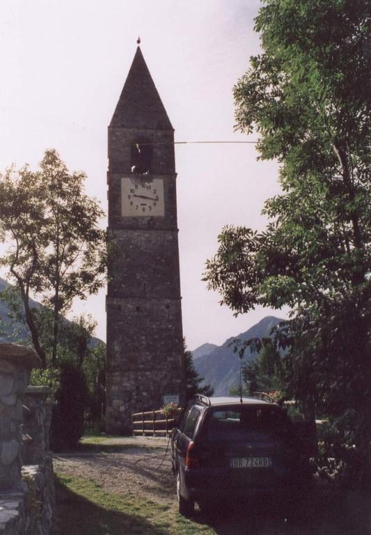 Torre campanaria San Bartolomeo di Clausio a Sambuco. DCI_CN233