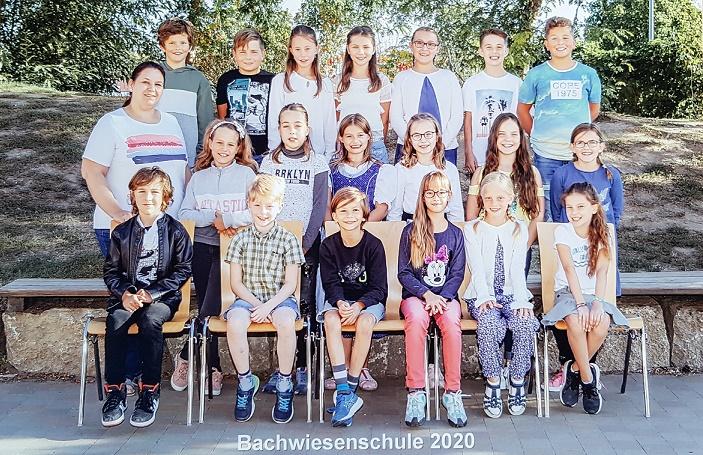 Klasse 4b mit Frau Hähnke