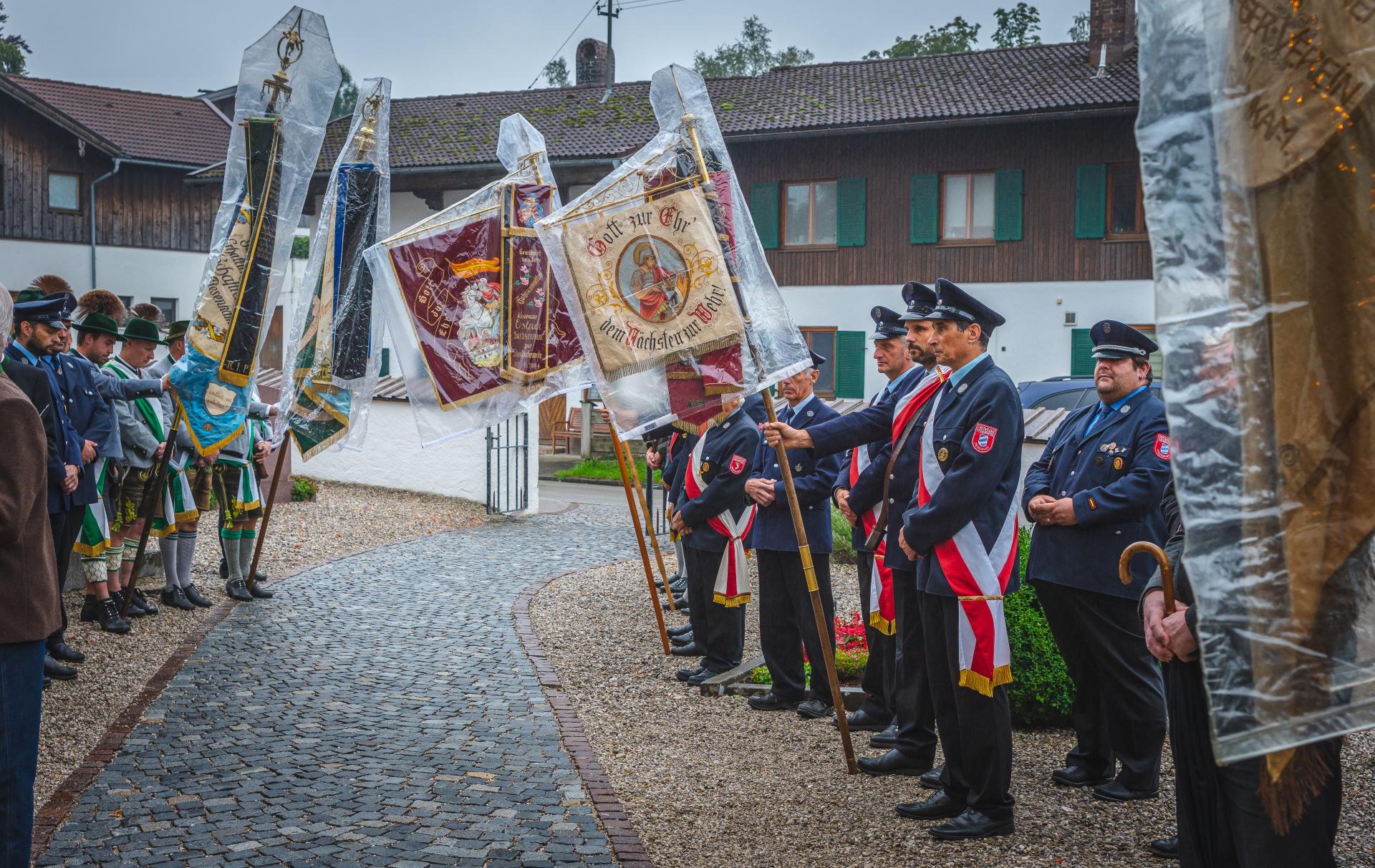 Totengedenken am 6. September 2019 anläßlich des 150-jährigen des Krieger- und Reservistenvereins Sachsenkam-Piesenkam