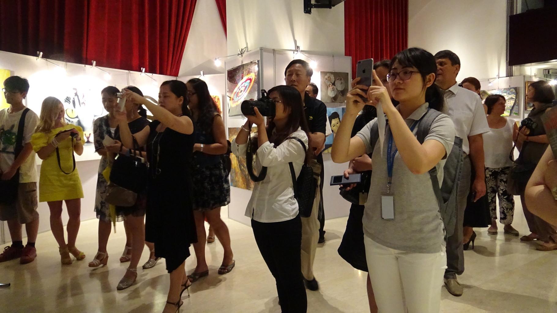 Гости выставки