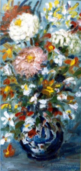"""Татьяна Казакова. """"Цинии"""", 2004"""