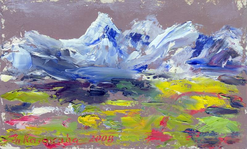 "Татьяна Казакова. ""А горы так близко"", 2008"