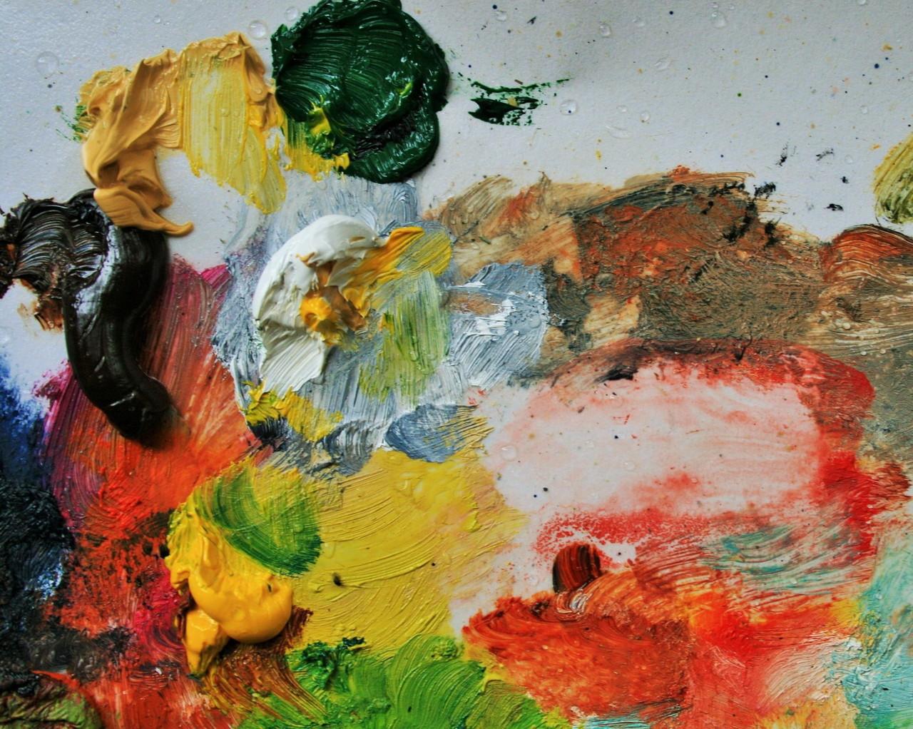8f600ec90ad892 Учимся смешивать краски - Мир живописи Татьяны Казаковой