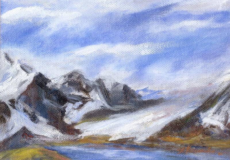 """Татьяна Казакова. """"Путь к вершине"""", 2006"""