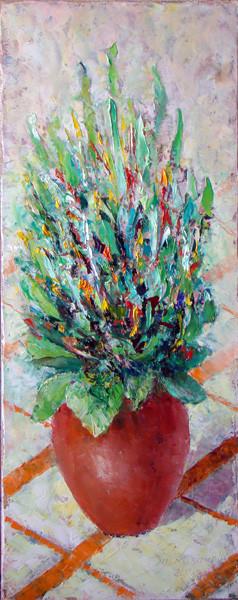 """Татьяна Казакова. """"Цветок растёт"""", 2011"""