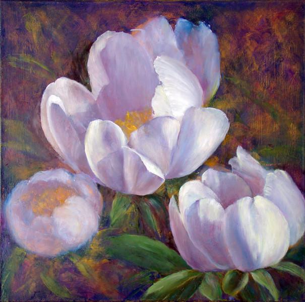 10. Уточнение рисунка центрального цветка