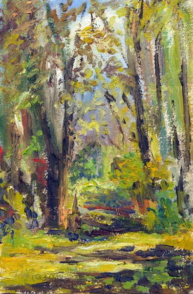 "Татьяна Казакова. ""В лесу"", 2007"