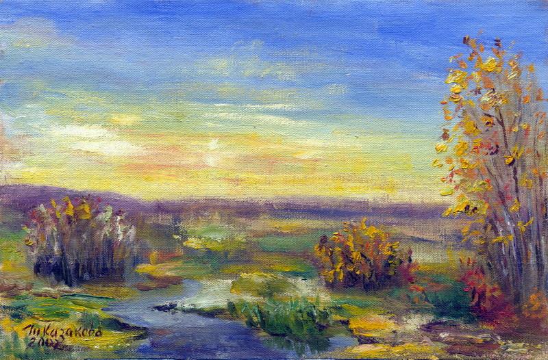 "Татьяна Казакова. ""Осенью"", 2007"