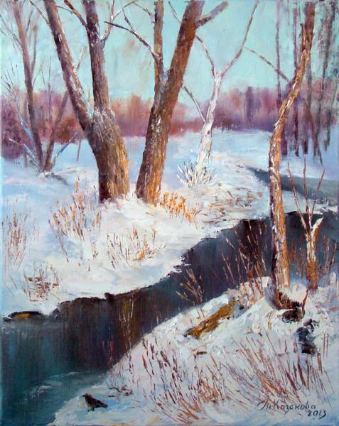 """Татьяна Казакова. """"Первый снег"""", 2013"""