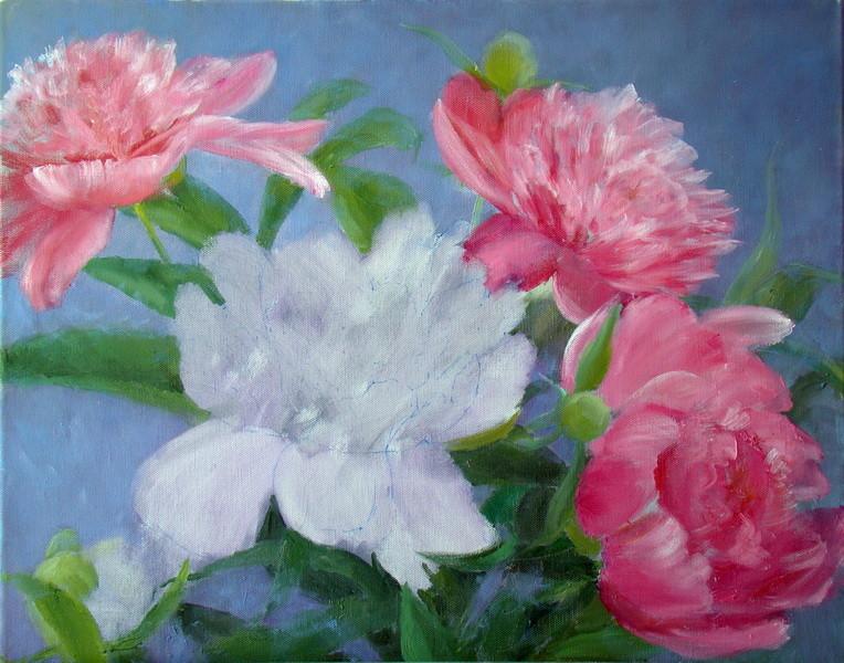 4. Дальнейшая прорисовка цветов