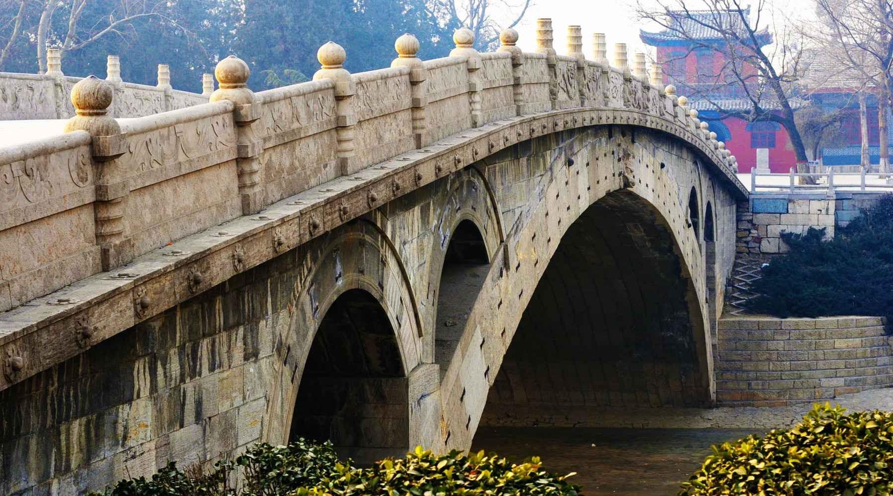 Шицзячжуань, мост Аньцзи