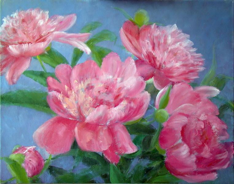 5. И снова прорисовка цветов
