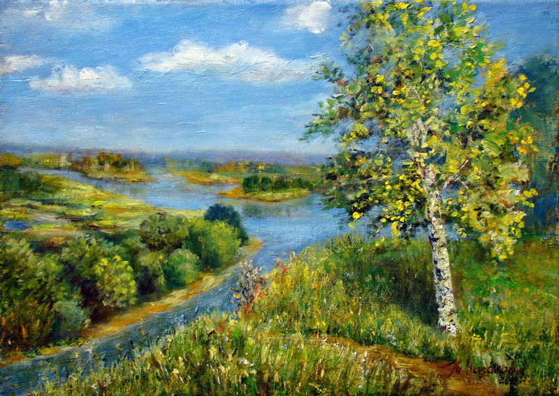 """Татьяна Казакова. """"Моя светлая Русь"""", 2008"""