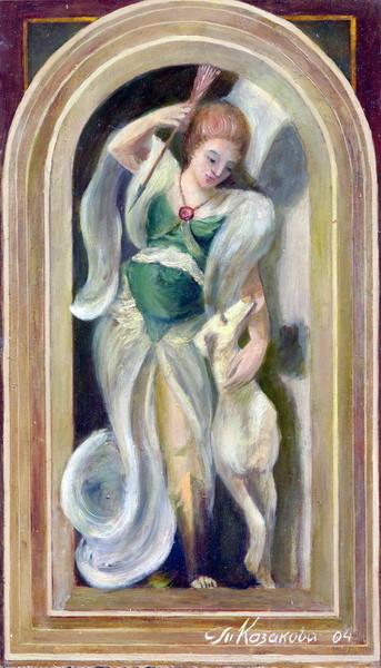 "Татьяна Казакова. ""Диана"", 2004"