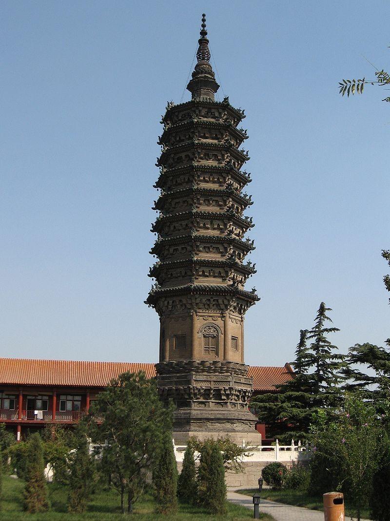 Шицзячжуань, уезд Чжэндин, пагода Чэнлин Та