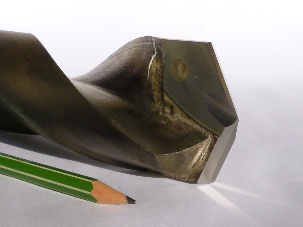 HSS Grundkörper mit eingelötetem Schneidenteil D 50mmm