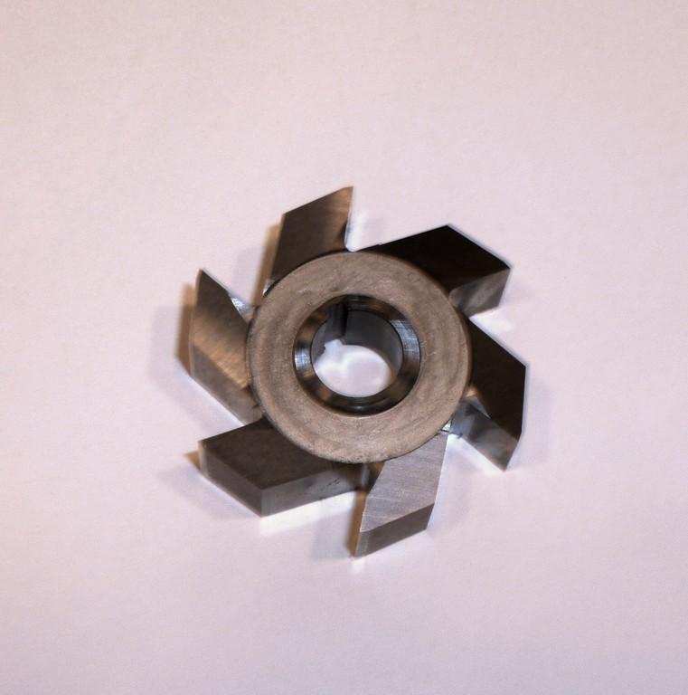 Aufsteckfräser VHM für T-Nuten D 30 x10 mm