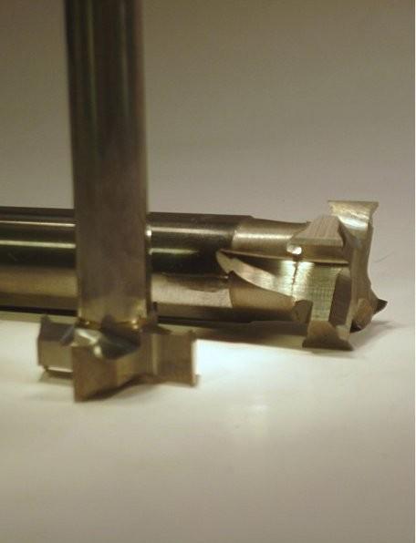Sonderfräser zum seitlichen Eintauchen D 30mm