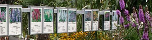 Zubehör für Gärtnereien: Palettenstraßen-Auszeichnung