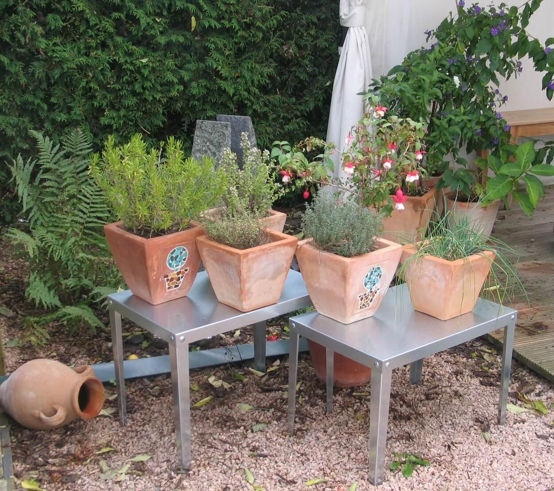 Gartentisch rostfrei und witterungsbeständig