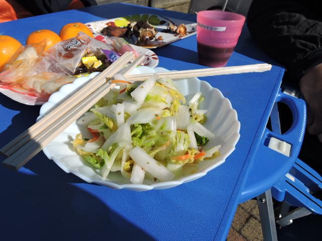朝取り白菜のお漬物(11月25日)