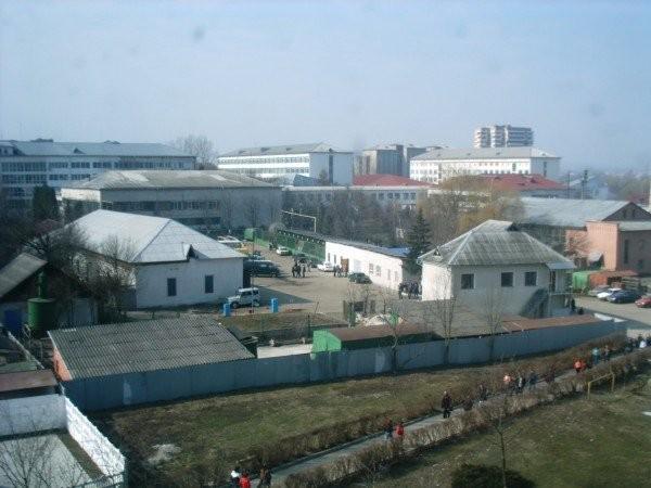 Вид з вікна корпусу ФАЄ