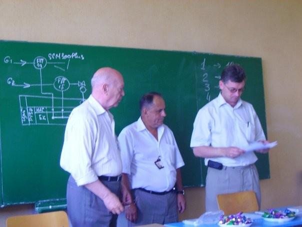 Семенцов Г.Н., Когуч Я.Р., Борин В.С. (зліва направо)