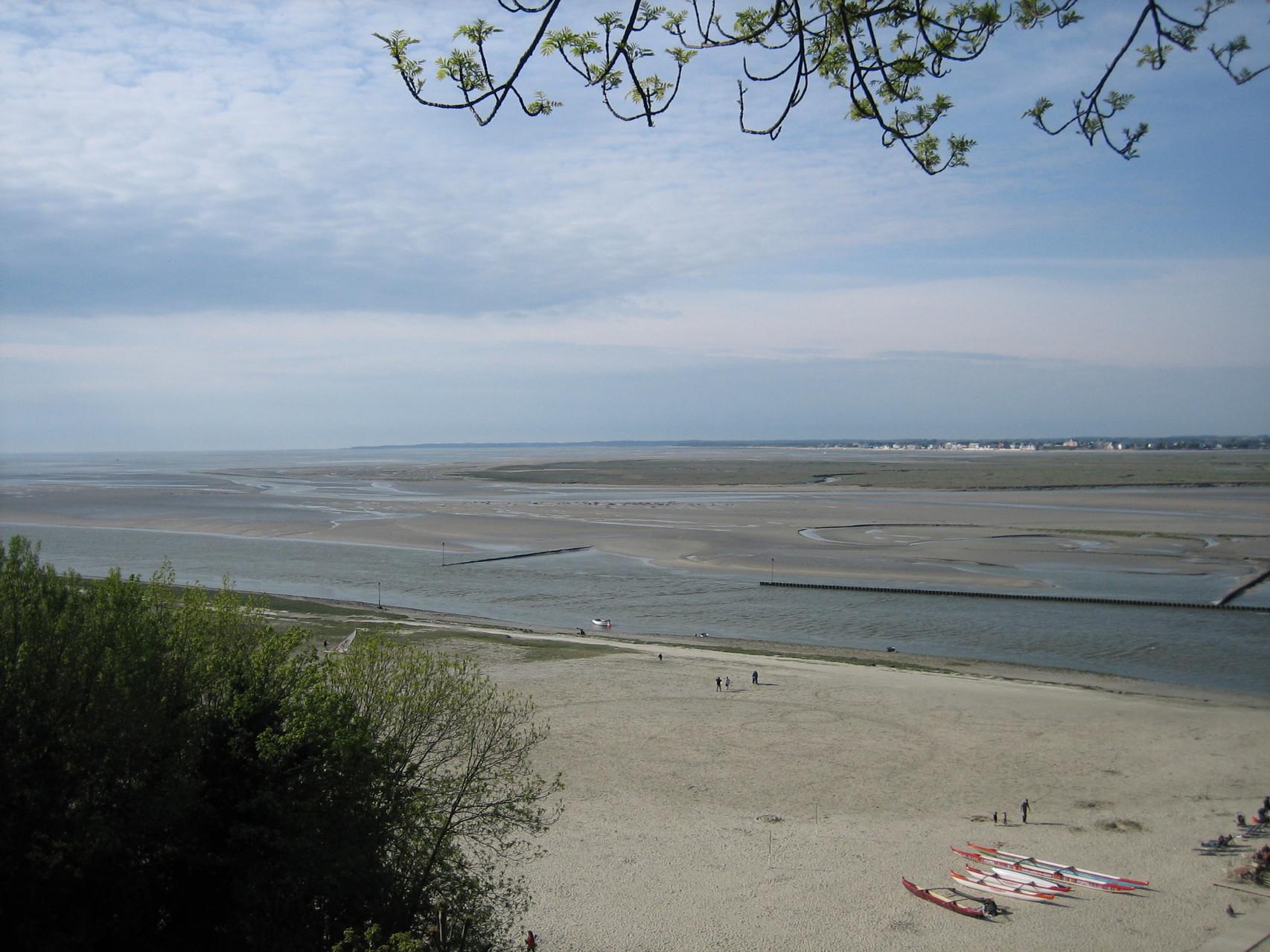 Vue sur la Baie de Somme prise de Saint-Valéry