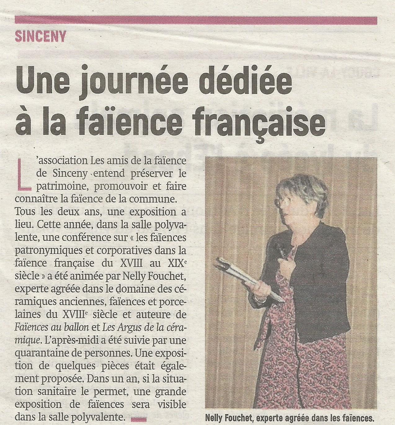 Article paru le 14/10/2021 dans l'Aisne Nouvelle