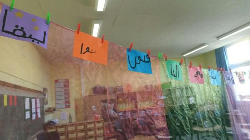 unsere Namen auf Arabisch