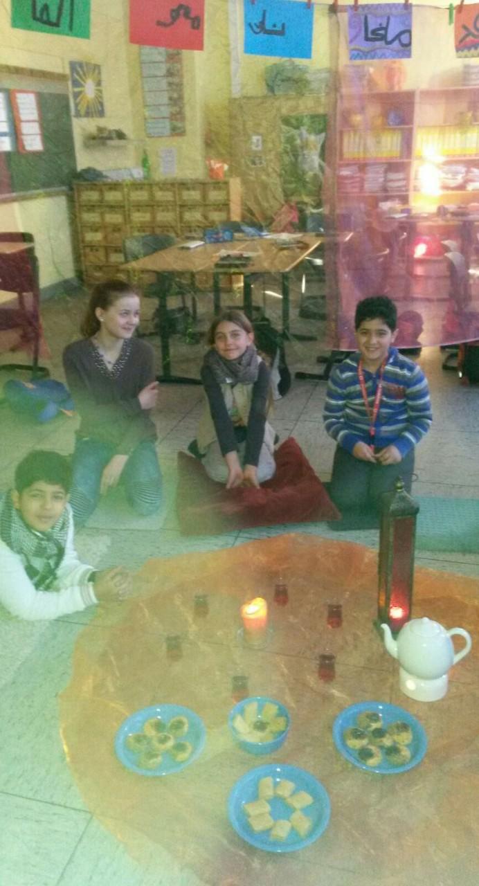 Beisammensein im türkischen Teehaus