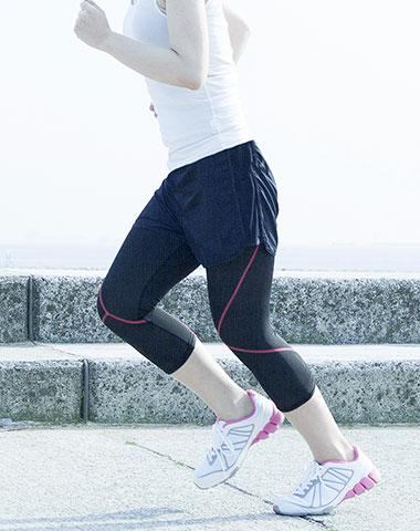 ジュニア期に多いケガの症例その2 膝痛(ランナー膝・ジャンパー膝など)