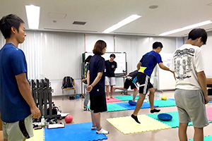 スポーツ障害症例セミナー 「足関節捻挫・テニス肘へのアプローチ」